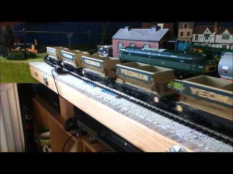 BR Blue Class 37251 and BR Green Class 47 D1572 + Class 70