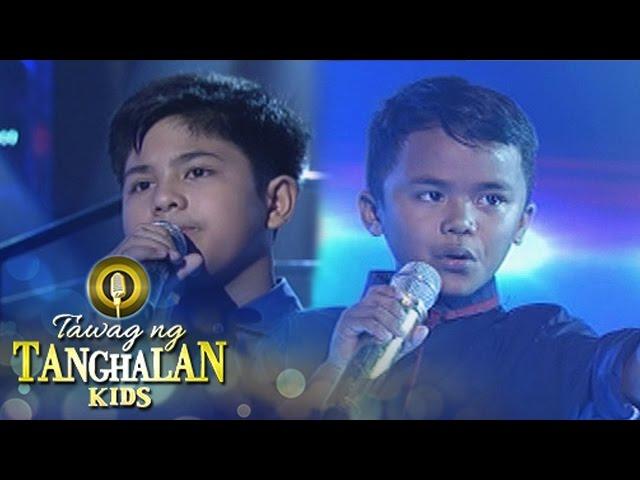 Tawag ng Tanghalan Kids: John Alfred vs. Francis Concepcion