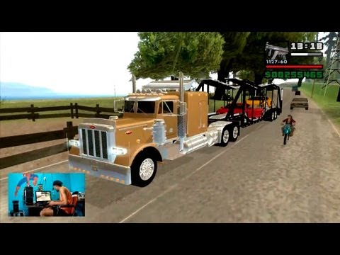 26º Video de GTASA Modificado 2013: Peterbilt 379 modelo 2