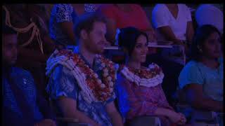 Cultural Performance for the Duke and Duchess In Fiji(Pasifika Voices and the Oceania Dance Theater)