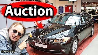 Why Not to Buy an Auction Car