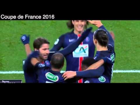 PSG Paris Saint Germain 3 - 0 Olympique Lyonnais, Tous les buts et Résume, Coupe de France