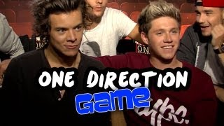 One Direction Raps - Most Likely To Game - This Is Us Junket Exclusive