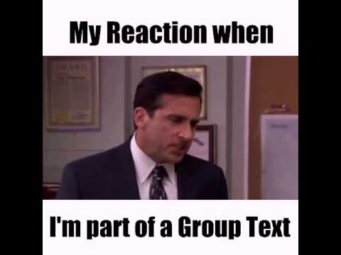 Group Text Chat Annoying