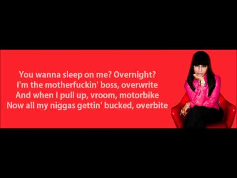 Nicki Minaj - Roman's Revenge (feat. Eminem) Lyrics Video