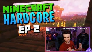 HARDCORE MINECRAFT! ep. 2 - We find Diamond!