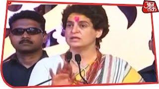 Priyanka Gandhi Takes On Modi In His Own Turf Varanasi, Concludes Ganga Yatra