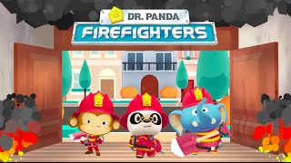 Dr. Panda Firefighters - Best iPad app demo for kids - Ellie