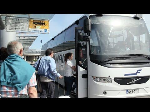 【空港バス】フィンランド ヘルシンキ・ヴァンター空港 発着 / FINNAIR City Bus in Finland - Helsinki Vantaa Aiport