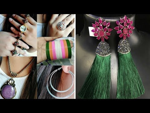 Latest Stylish &Trendy Tassel Earrings Designs - Designer Earrings For Women