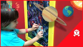 Indoor Playground Videos for Toddlers - Fun Educational / Learn Planets - Milo's Playground Season 1