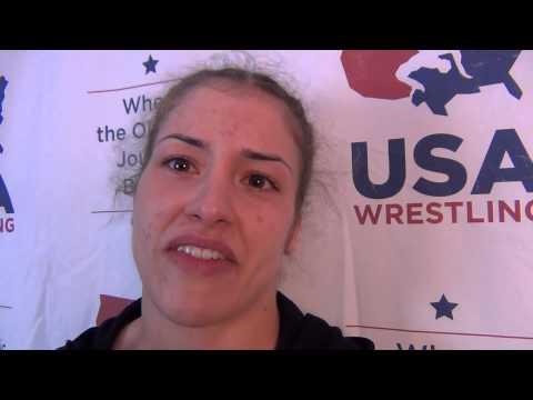 Helen Maroulis, 58 kg women's Semis winner at U.S. Open