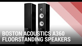 Boston Acoustics A360 Floorstanding Speakers - Quick Review India