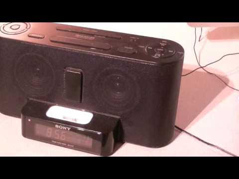 Sony Dream Machine iPhone/iPod Dock Review
