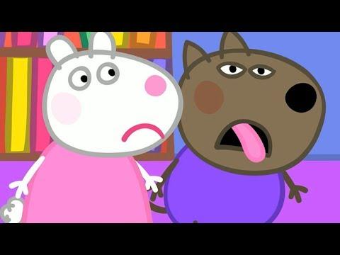 Peppa Pig Świnka Peppa Bajka po Polsku | Danny Piesek jest Chory | Bajka po Polsku