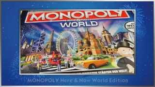 "Hasbro Gaming Deutschland - Unboxing-Video ""Monopoly World"""