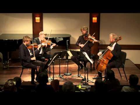 Danish String Quartet - Debussy Quartet in Gm Mvt. 4: Très modéré--Très mouvementé et avec passion