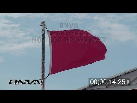 11/30/2008 Red Flag Warning beach video