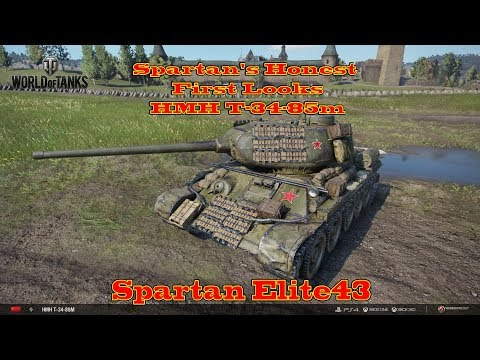 Spartan's Honest First Looks HMH T 34 85 World of Tanks Xbox One