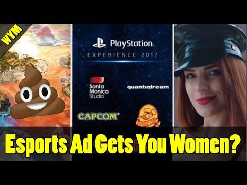 PSX 2017 Games Revealed, Pokemon Ultra Sun and Moon's World is Crap, ESports Gets You Women