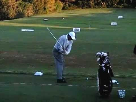 Ryder Cup Captain Jose Maria Olazabal - Golf Swing in Slow Motion
