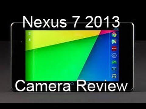 nexus 7 (2013) camera review youtube