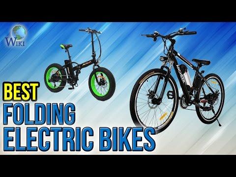 10 Best Folding Electric Bikes 2017