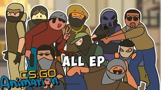 CS:GO ANIMATION. ALL EPISODES (COUNTER-STRIKE PARODY)