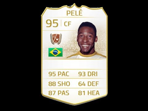 FIFA 14 LEGEND PELE 95 Player Review & In Game Stats Ultimate Team