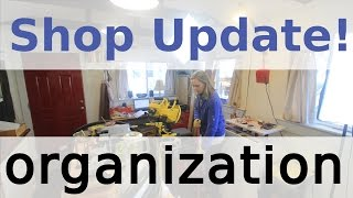 Shop Update - Drill Press & Organization