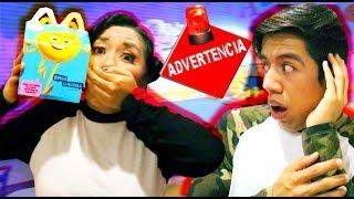 NO COMPRES la CAJITA FELIZ de EMOJI LA PELICULA!! *peligro* | Palomitas Flow