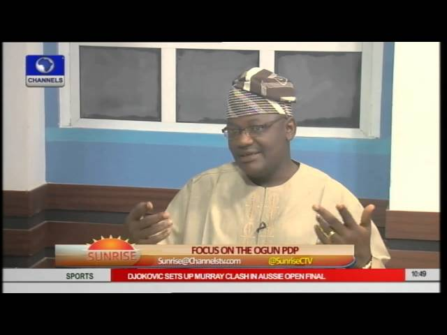 Ogun Governorship Aspirant Assures Citizens of Better Life PT2