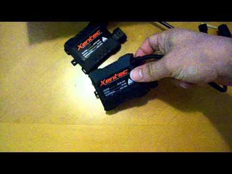 UnBoxing Xentec Slim HID Kit