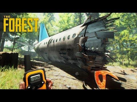 THE FOREST - ПРОХОЖДЕНИЕ в ПЕРВЫЙ РАЗ!! Часть 1 - Крушение самолёта!