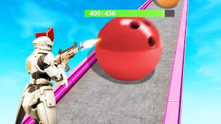 DESTROY The MOST BALLS To WIN! (Fortnite Aim Course)