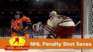 NHL Penalty Shot Saves