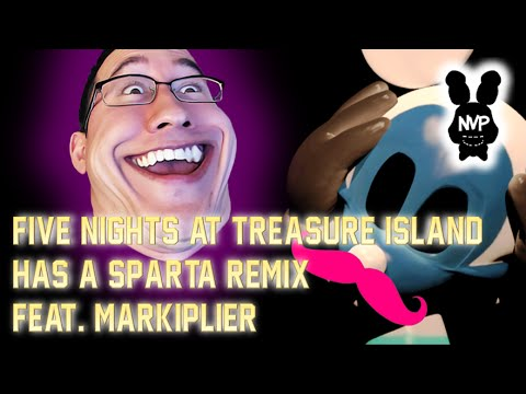 Five Nights At Treasure Island Has A Sparta Remix (feat. Markiplier!) video