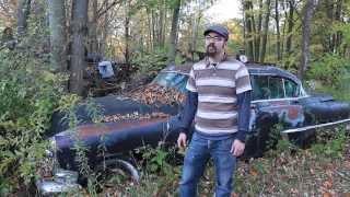 4x5 Large format camera film photography at favorite junkyard.