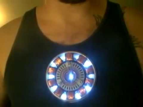 Custom Arc Reactor Movie