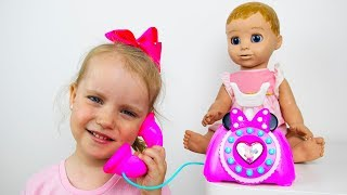 Gaby Pretend Play with Baby Dolls Toys