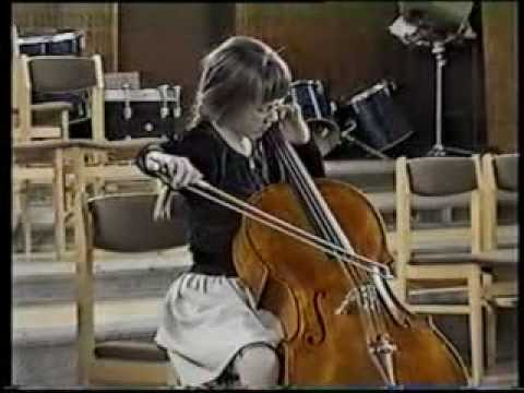 Haydn Cello Concerto in C major/ Fanny Nemeth-Weiss (11 years old)