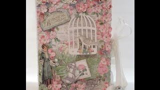 G45 Botanical Tea Envelope Mini Album with Flaps