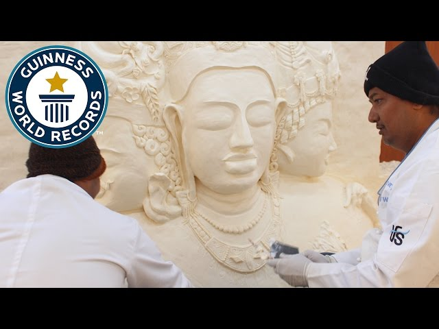 Largest margarine sculpture - Guinness World Records
