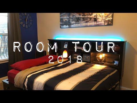 ROOM TOUR 2018 (SETUP + MORE!)