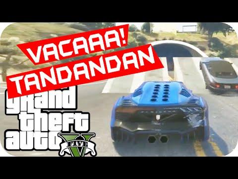 GTA V - Carro Vacaaaaa! Tandandan