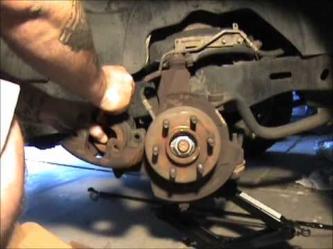 change brake pads and rotors on a dakota