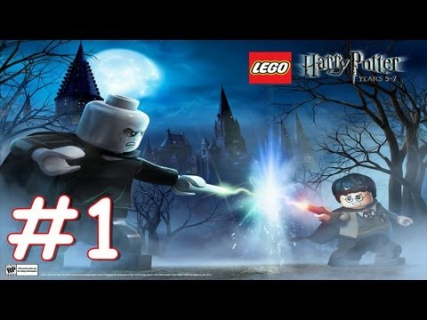 Lego Harry Potter Years 5-7 Walkthrough Part 1 Dark Times