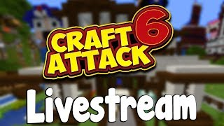 AB INS END! - CraftAttack 6 LIVESTREAM