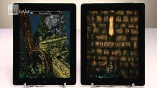 New iPad vs iPad 2 Test_ Speed Testing, Screen Testing & Start-Up