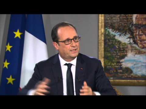 Entretien de François Hollande, président de la République accordée à ATV, Martinique 1ère et à RCI